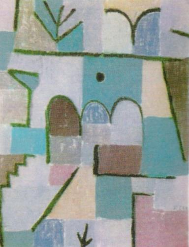 garten im orient 1937 art print by paul klee at king mcgaw. Black Bedroom Furniture Sets. Home Design Ideas