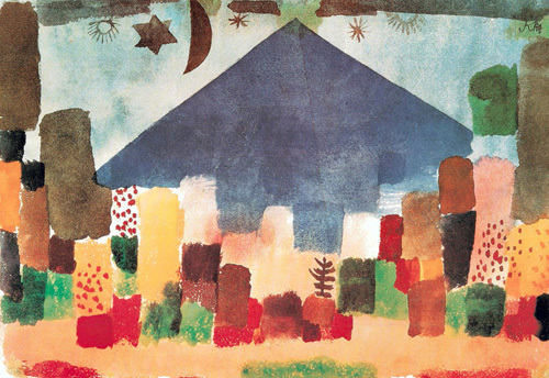 Eygptian Night by Paul Klee