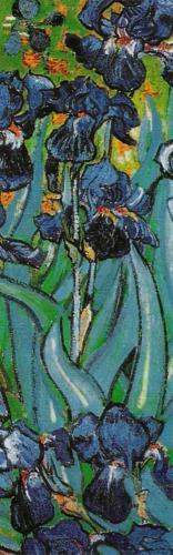 Irises in Garden (detail) by Vincent Van Gogh