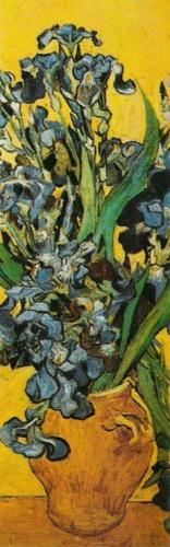 Still Life Of The Irises (detail) by Vincent Van Gogh