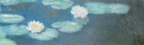 Waterlilies, 1897 (detail) by Claude Monet