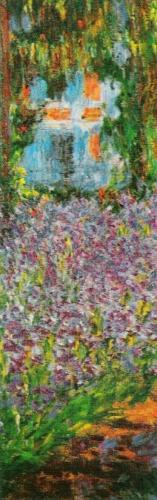 Garden at Giverny (detail) by Claude Monet