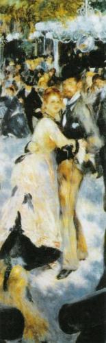 Dance at the Moulin de la Galette, 1876 (detail) by Pierre Auguste Renoir