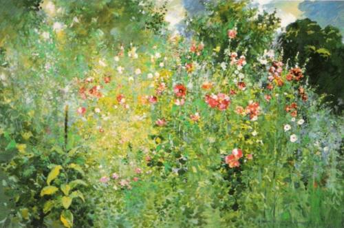 A Garden is a Sea of Flowers by Ross Sterling Turner