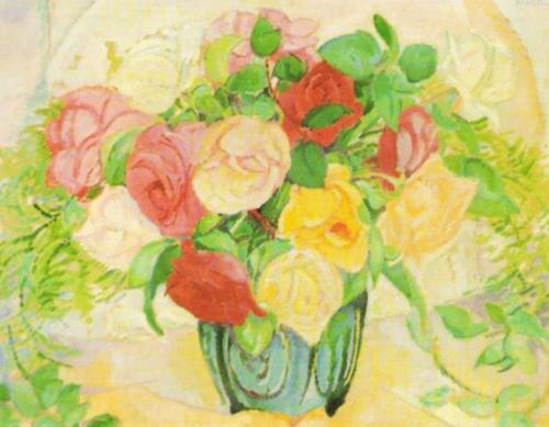 Floral Arrangement by Leo Gestel