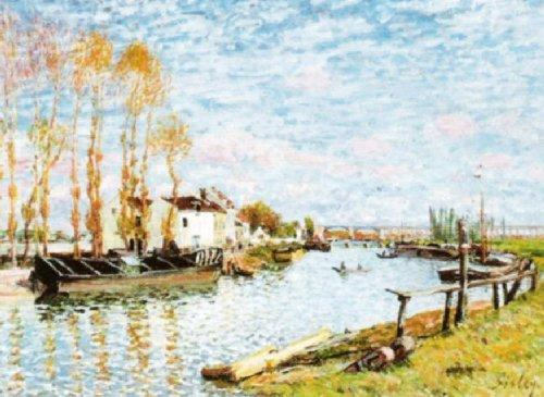 The Loin at Saint-Mammes by Alfred Sisley