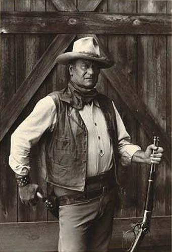 John Wayne by Bob Willoughby