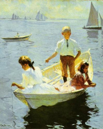 Calm Morning, 1904 by Frank Weston Benson