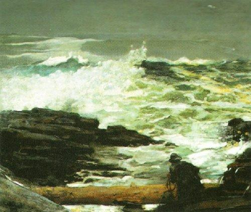 Driftwood, 1909 by Winslow Homer