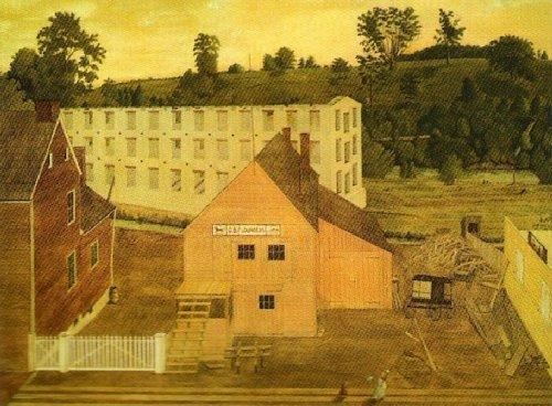 View of Barby, Pennsylvania by Jesse D. Bunding