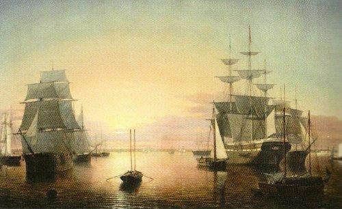 Boston Harbour by Fitz Hugh Lane