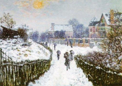 Boulevard Saint-Denis by Claude Monet
