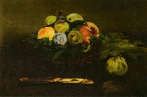Basket of Fruit by Edouard Manet