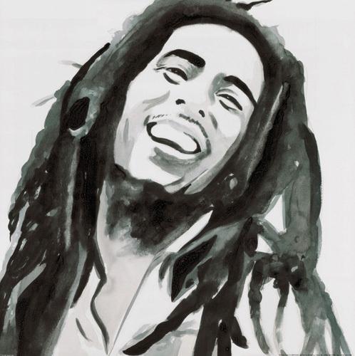 Bob Marley by Irene Celic
