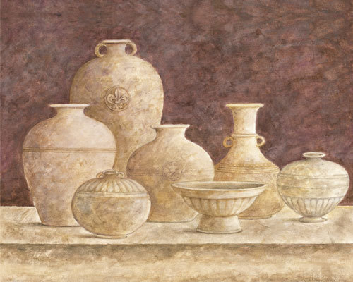 Pottery III by G.P. Mepas