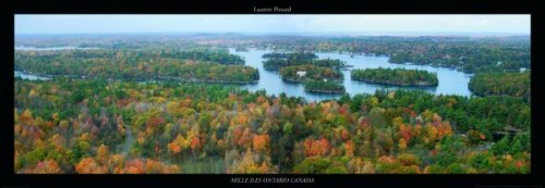 Mille Iles, Ontario Canada by Laurent Pinsard