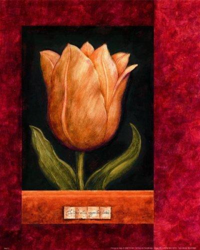 Red Framed I by Hervé Libaud