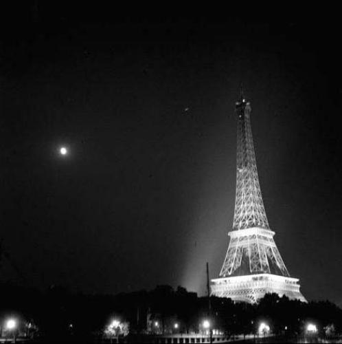 Eiffel Tower in Paris, France - Jun 1965 by Mirrorpix