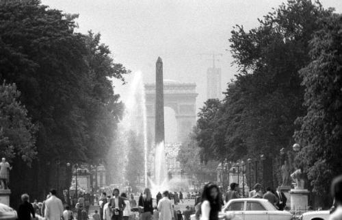 Arc de Triomphe - June 1972 by Mirrorpix