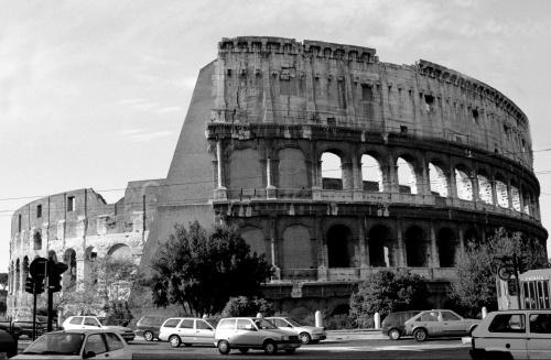 Colosseo in Rome, Italy by Mirrorpix