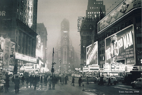 Times Square 1949 by Anonymous