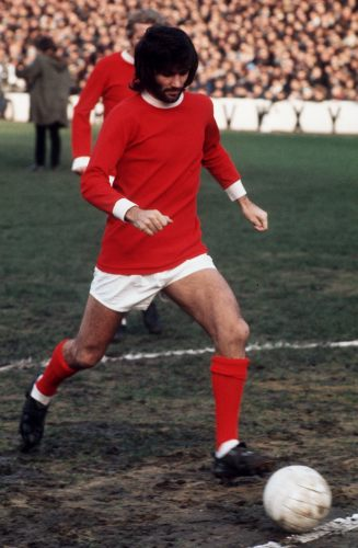 George Best, Manchester United by Mirrorpix