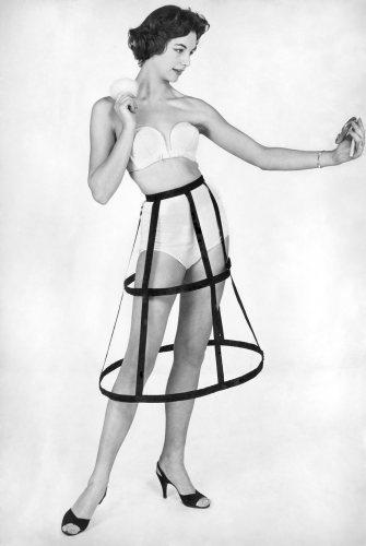 Unusual underwear, 1955 by Mirrorpix