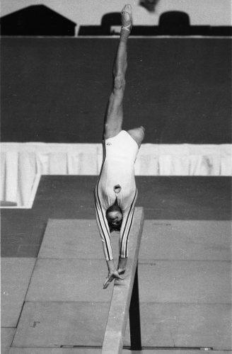 Olympic Games 1976: Romanian gymnast Nadia Comaneci by Mirrorpix