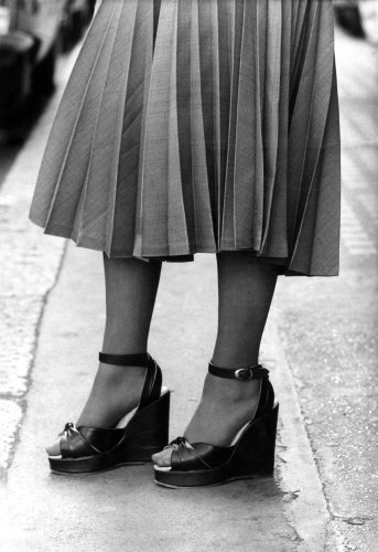 Fashion: Platform shoes, 1974 by Mirrorpix