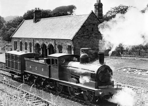 Rowley Station at Beamish Open Air Museum by Mirrorpix