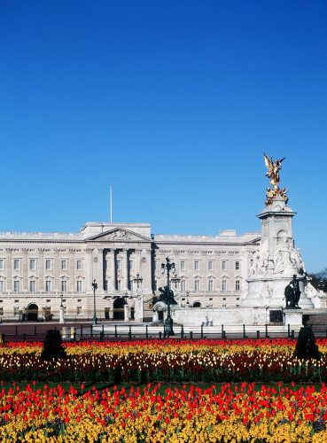 Buckingham Palace in London by Mirrorpix