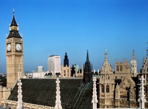 Big Ben and Houses of Parliament, London by Mirrorpix