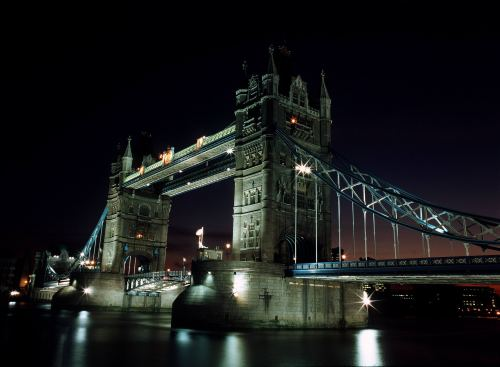 Tower Bridge London, 1980 by Mirrorpix