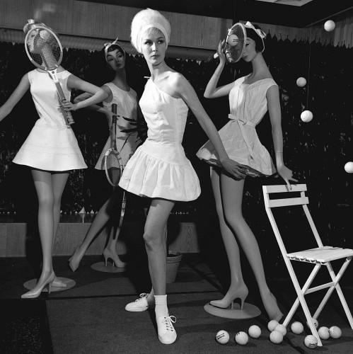 Teddy Tinling Fashion by Mirrorpix