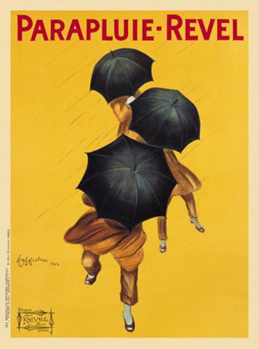 Parapluie-Revel by Leonetto Cappiello