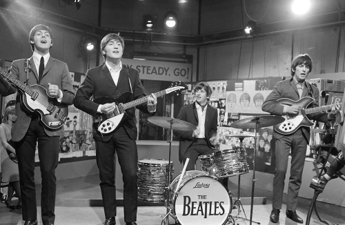 Beatles Ready Steady Go! by Celebrity Image