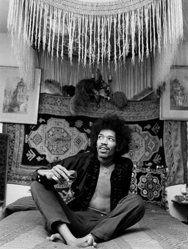 Jimi Hendrix by Celebrity Image
