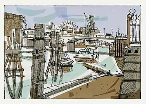 London Eye from Sugar Quay by Mark Raggett