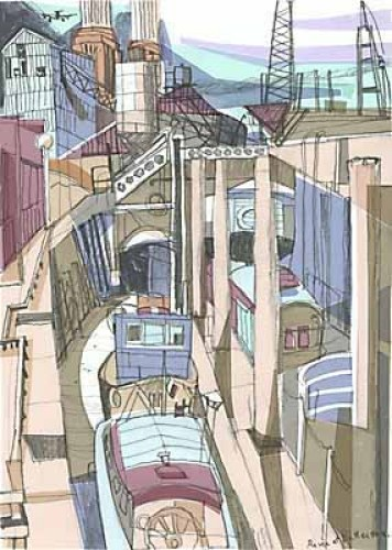 River at Battersea by Mark Raggett