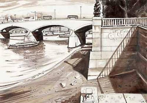 London Bridges - Waterloo Bridge by Mark Raggett