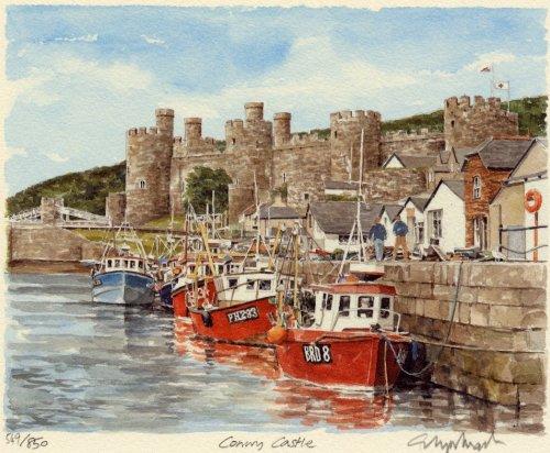 Conwy Castle by Glyn Martin