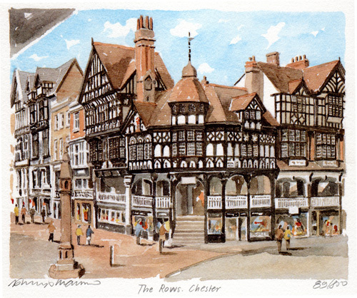 Chester - The Rows by Philip Martin