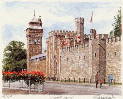 Cardiff Castle by Glyn Martin