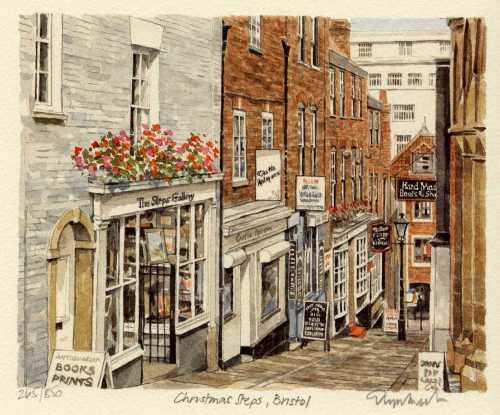 Bristol - Christmas Steps by Glyn Martin
