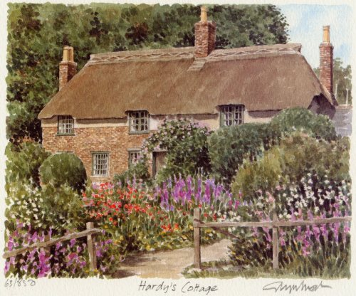 Hardy's Cottage by Glyn Martin
