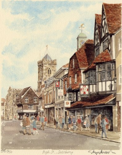 Salisbury - High Street by Glyn Martin