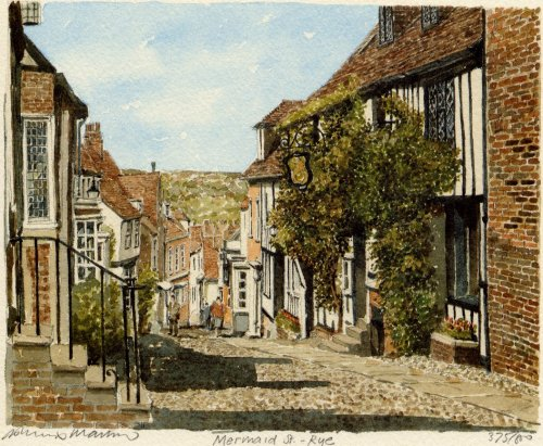 Rye - Mermaid Street by Philip Martin