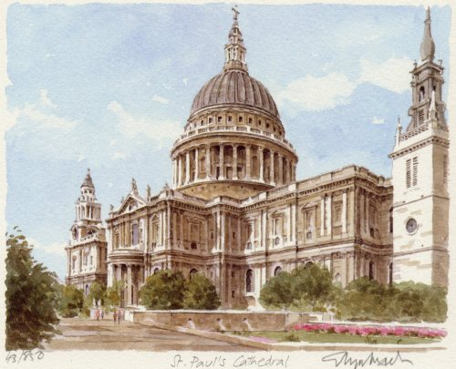 St.Paul's - Cathedral by Glyn Martin