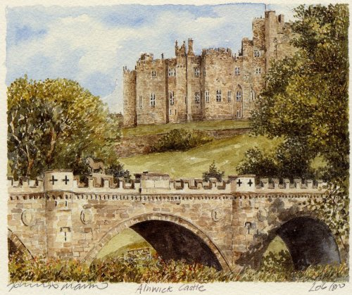 Alnwick Castle by Philip Martin