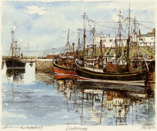Seahouses by Philip Martin